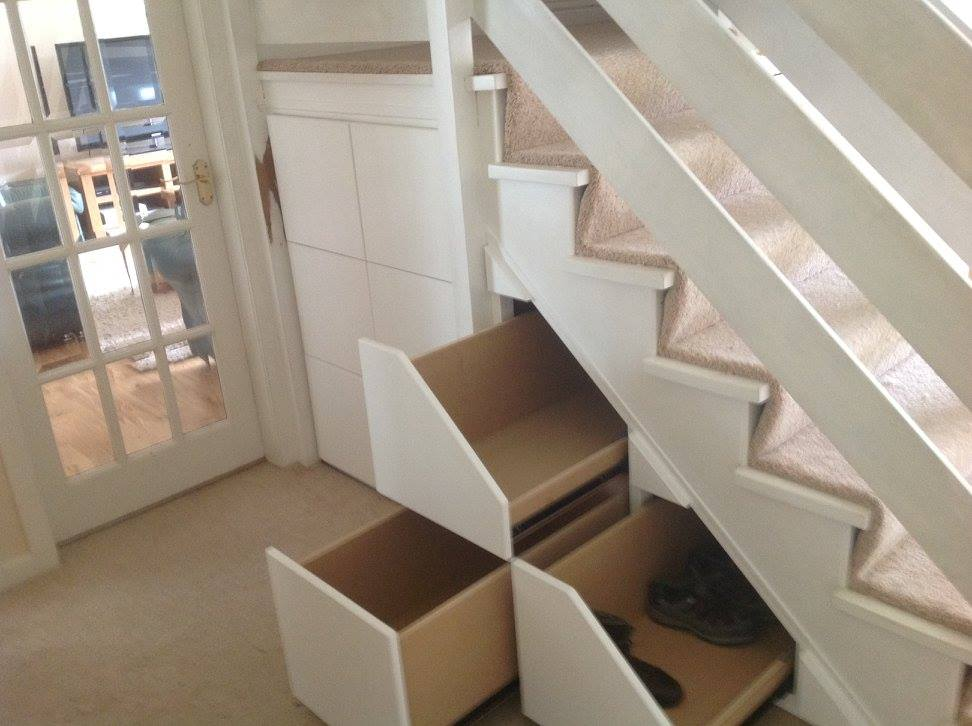 Create a Space understair storage
